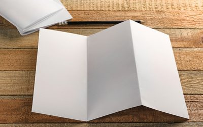 The best ways to fold a brochure